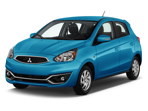 New 2019 Mitsubishi Mirage ES.