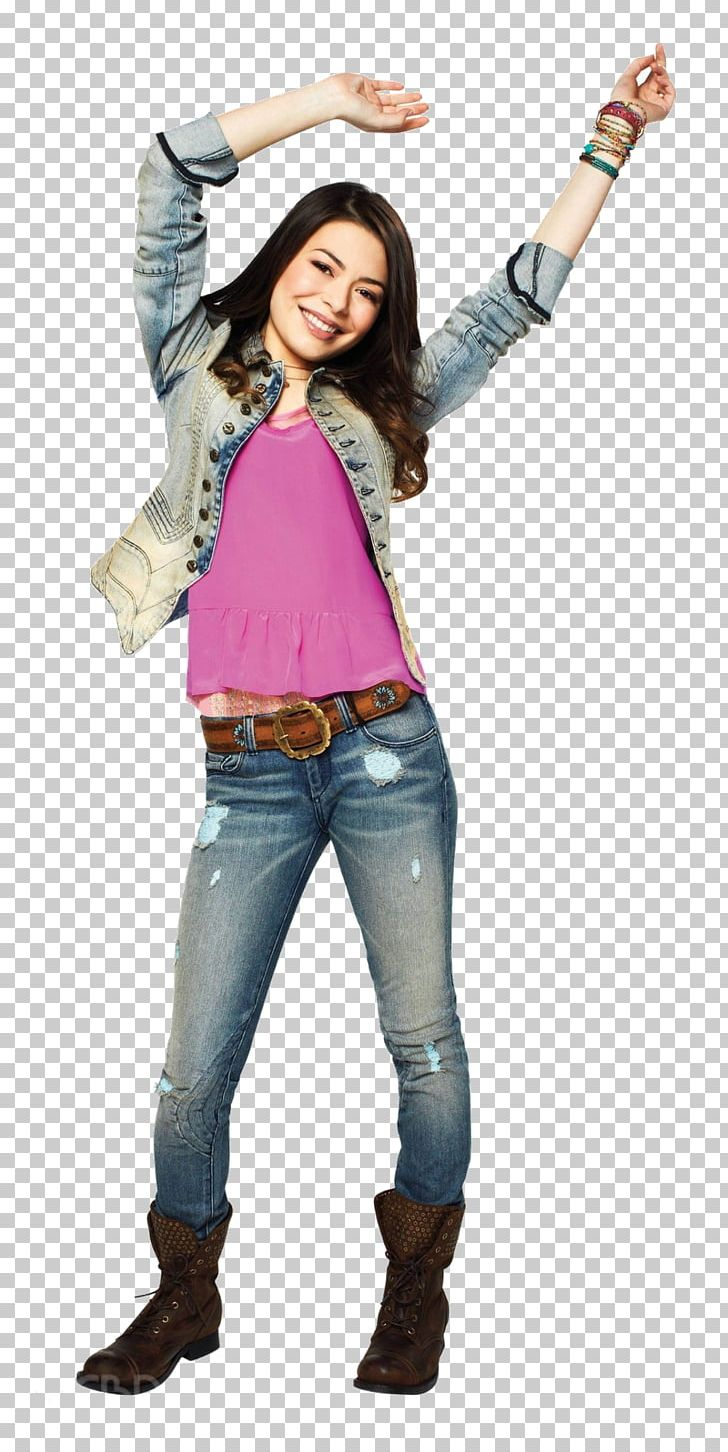 Miranda Cosgrove Carly Shay Sam Puckett ICarly Fashion PNG.