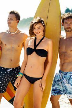 Miranda kerr bikini clipart.