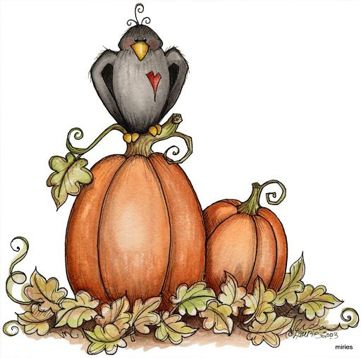 Autumn Holiday Clipart.
