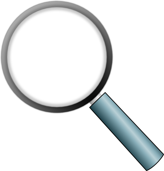 Transparent Magnifying Glass Clip Art at Clker.com.