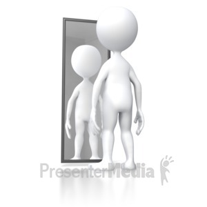 Mirror clipart in powerpoint.