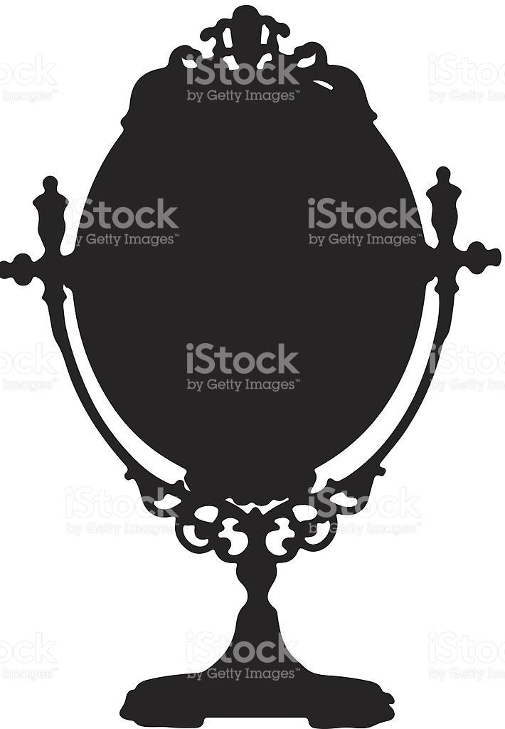 Mirror Silhouette stock vector art 451077171.