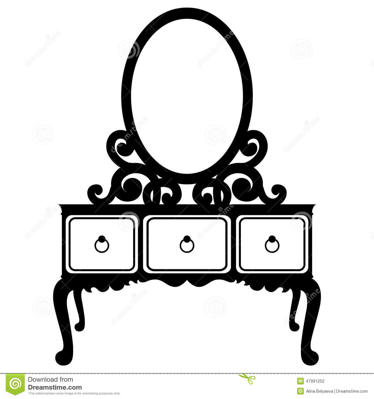 Mirror Clipart Silhouette Clipground