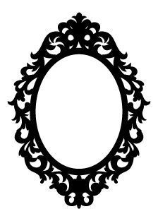 Mirror frame clipart 2 » Clipart Portal.