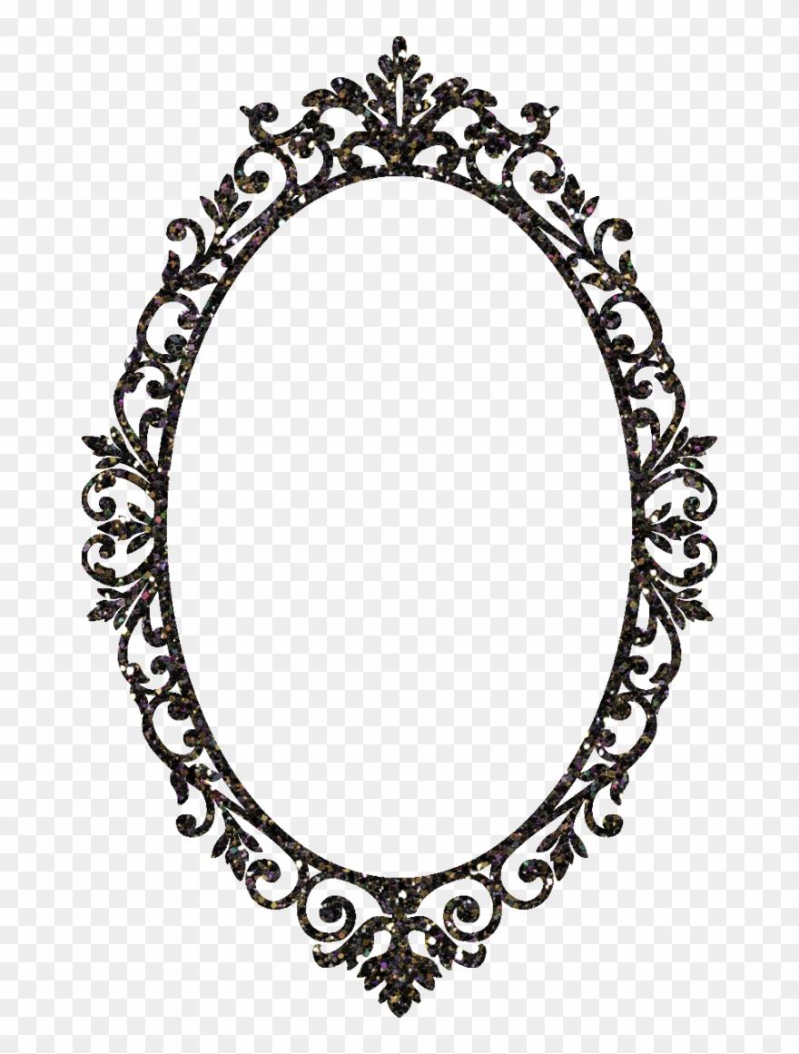 Mirror Clipart Ornamental.