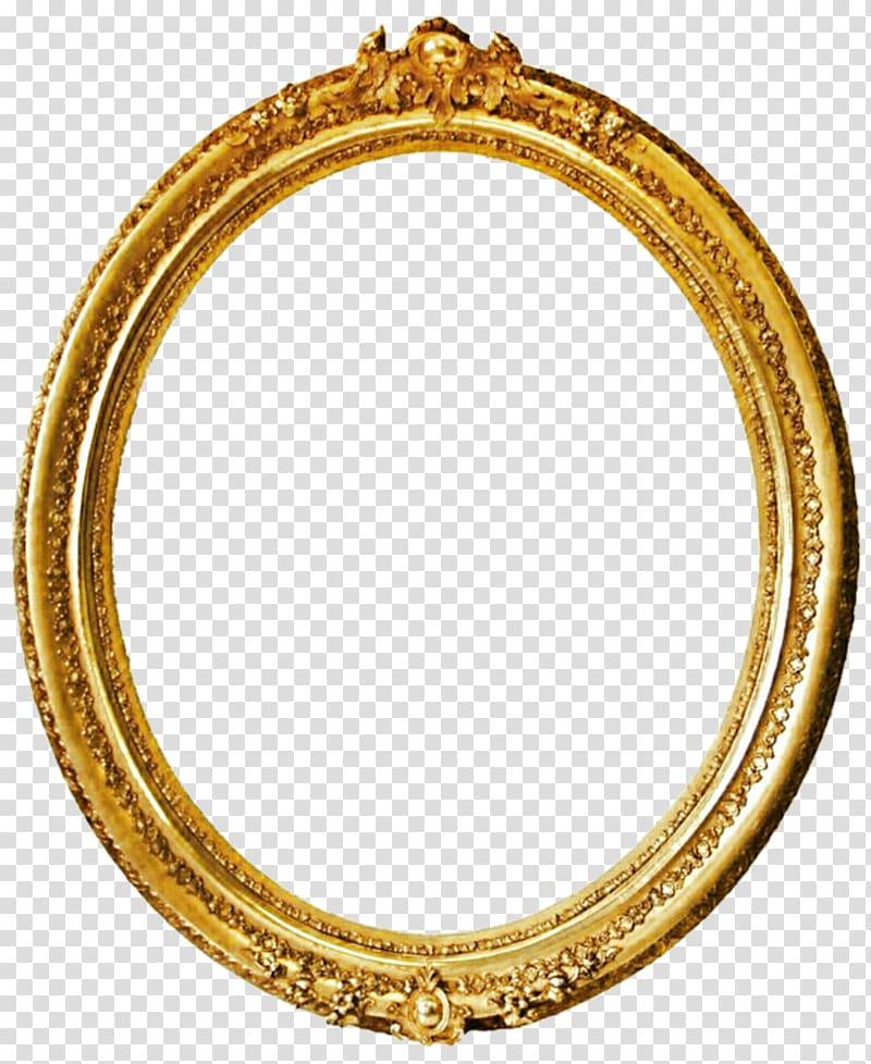 Oval gold frame, Frames Gold Mirror , vintage gold.