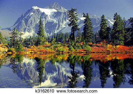 Stock Photography of mirror lake k3162610.