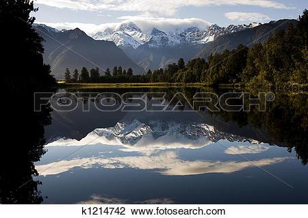 Stock Photo of New Zealand.
