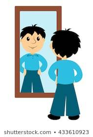 Reflection in mirror clipart 3 » Clipart Portal.