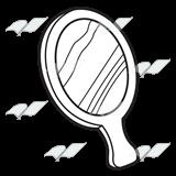 Mirrored Black White Clipart Clipground