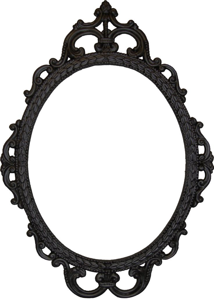 Mirror Clipart Black And White.