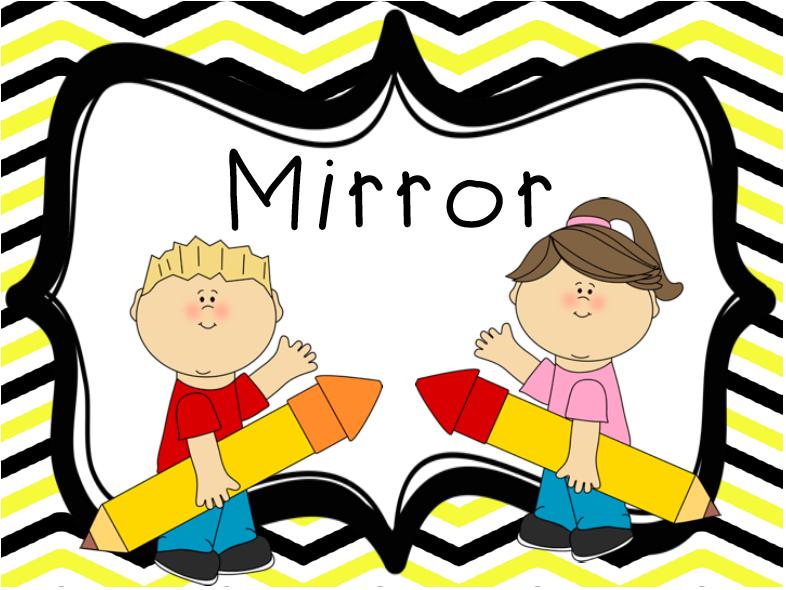 Teacher Will Run for Books: Whole Brain Wednesday: Mirrors.