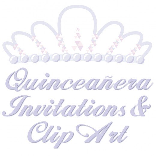 Free Quinceanera Invitations Templates and Clip Art.
