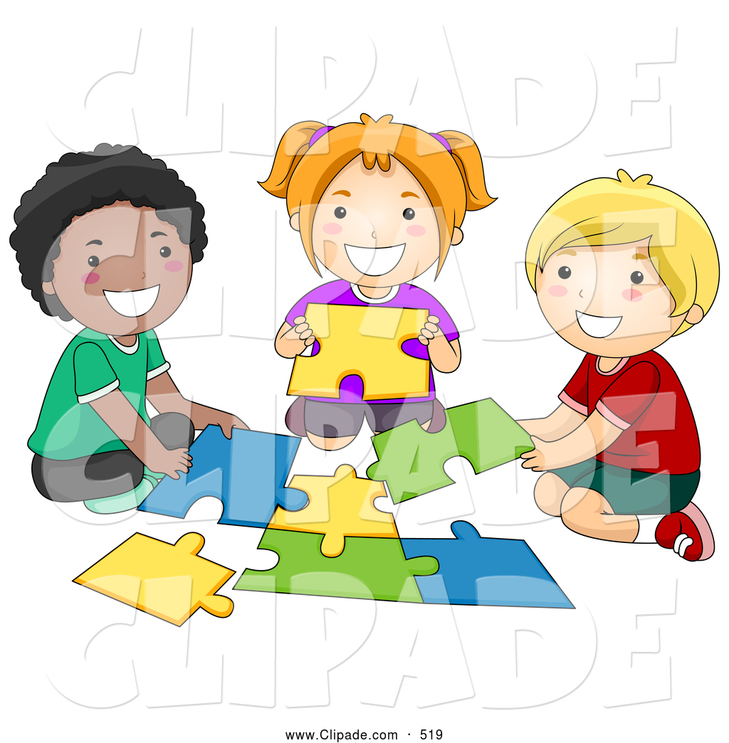 Clipart Children In School.