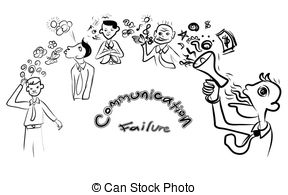Miscommunication Vector Clip Art Royalty Free. 45.