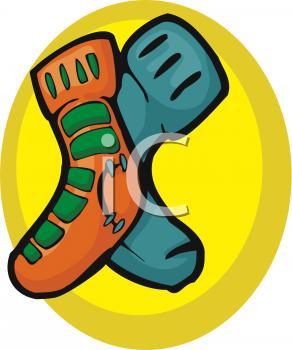 Mismatched Shoes Clip Art (16+).