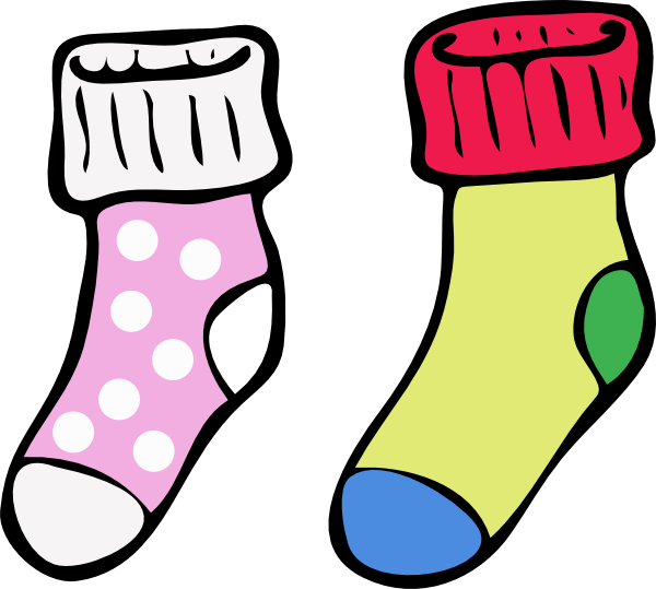 Socks3 Clip Art at Clker.com.