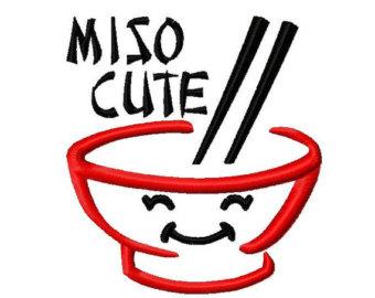 miso soup cute.