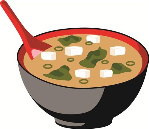 Miso Soup Clipart.