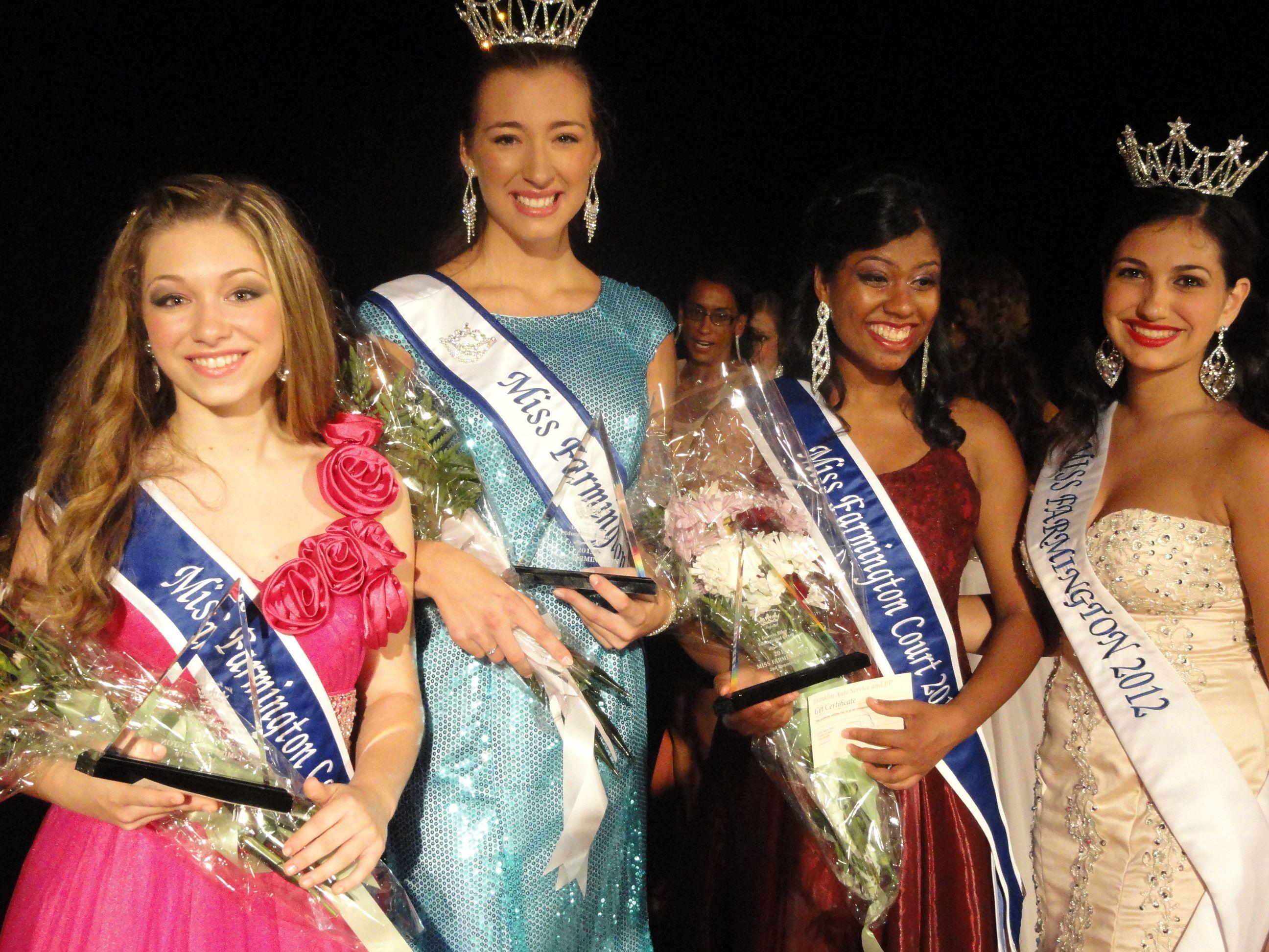 Kristina Franchi Wins 2013 Miss Farmington Title.