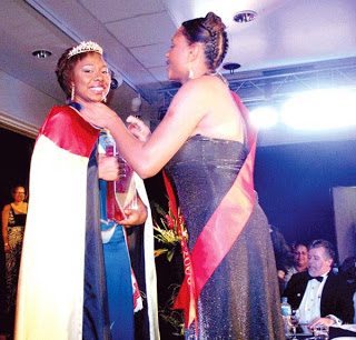 Malum Nalu: Antonia Singut is Miss Papua New Guinea 2009.