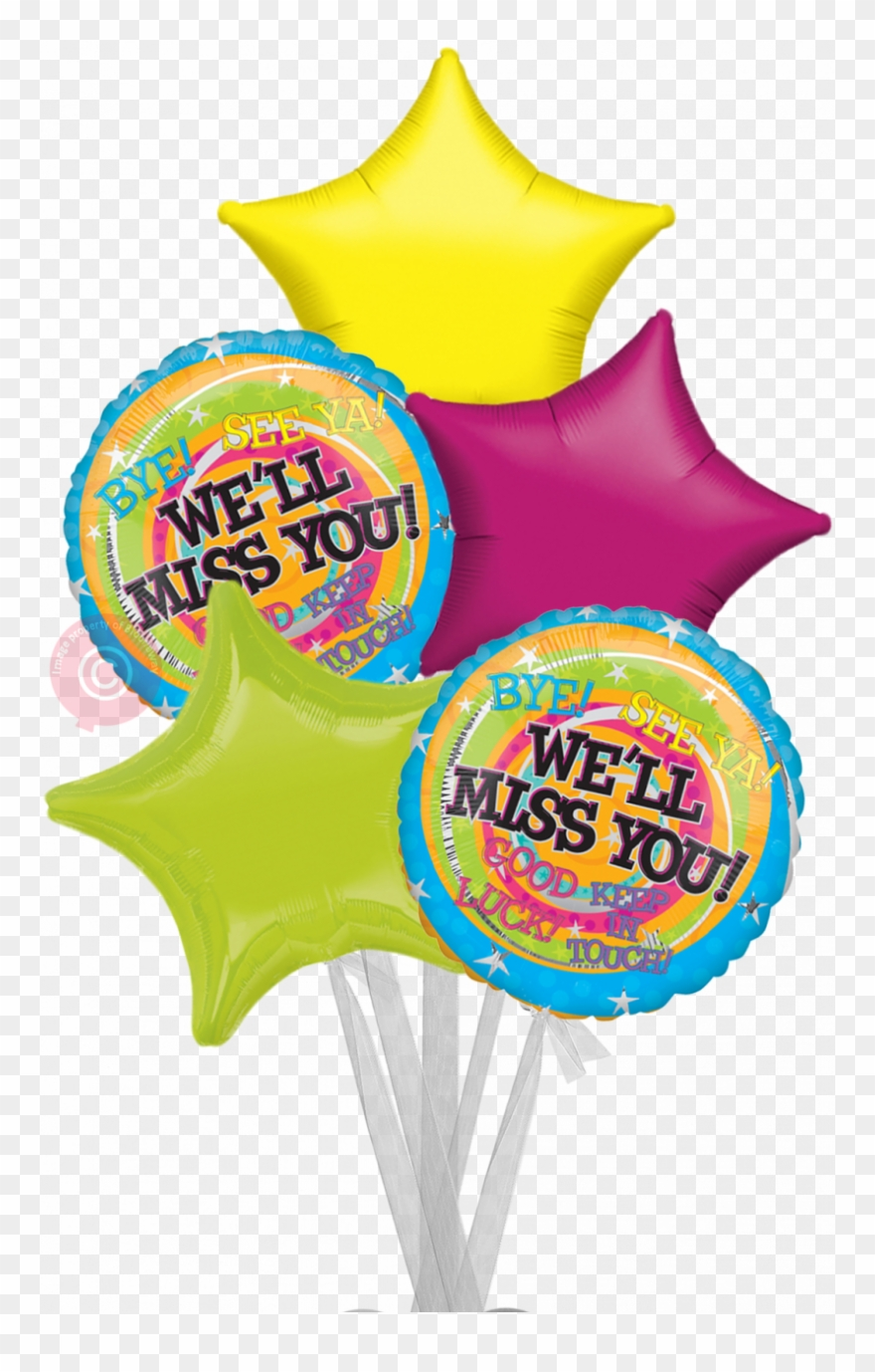 Personalised We Ll Miss You Messages Balloons Delivered.