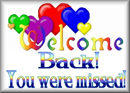 Welcome Back Clipart Animated.