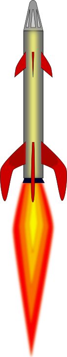 Rocket launch clip art.