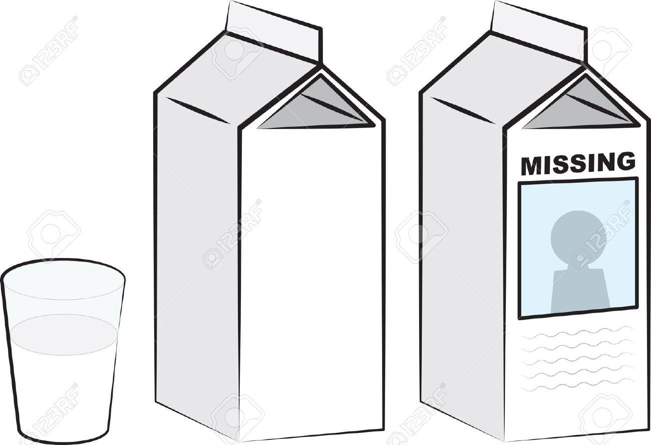missing milk carton clipart clipground