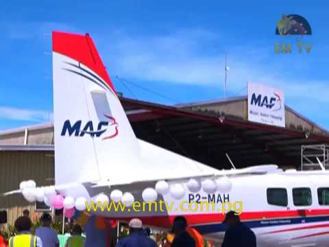PNG Mission Aviation Fellowship Launches New Aircraft in Mt.