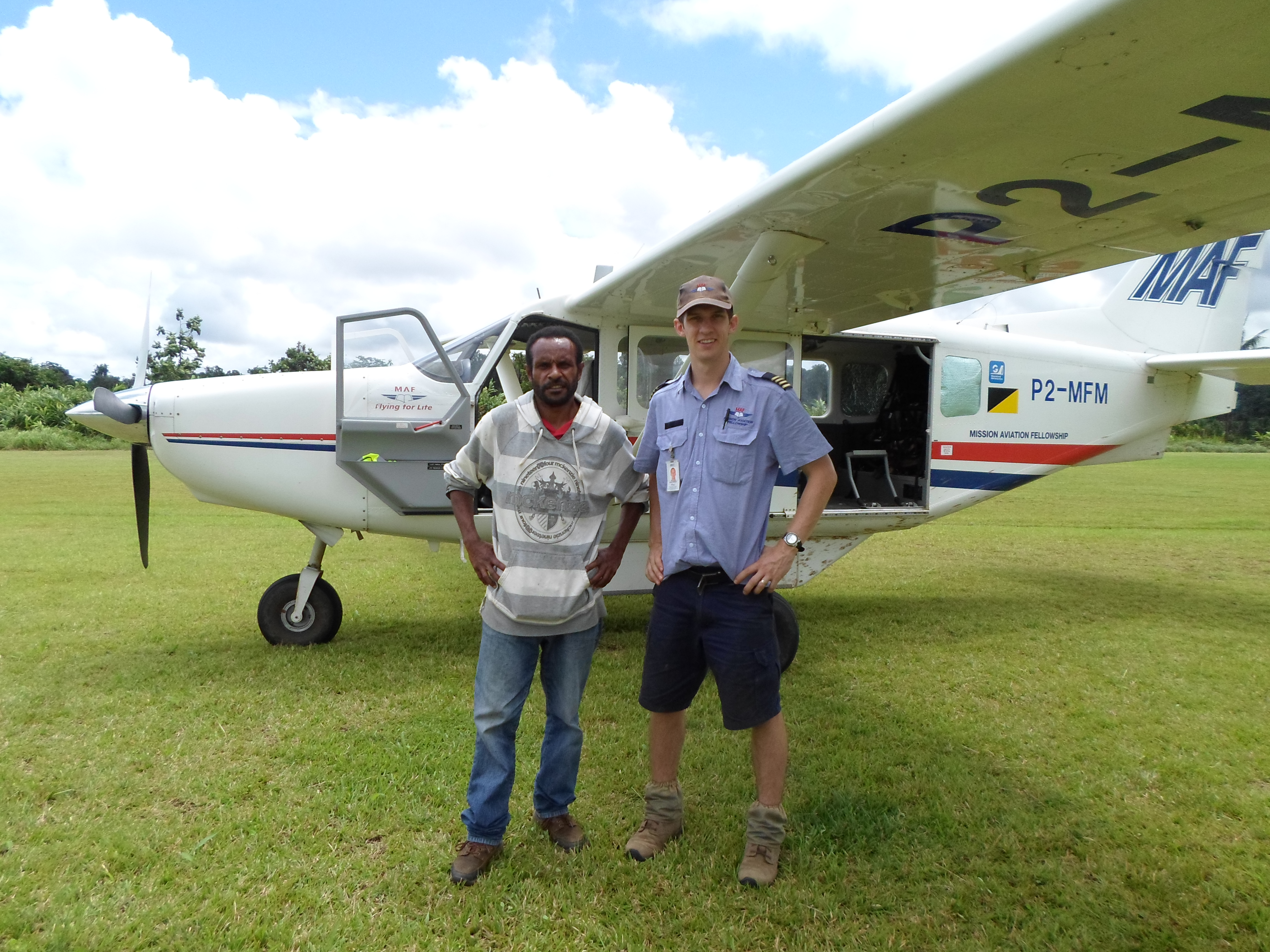 Mission Aviation Fellowship (MAF) Training PNG.