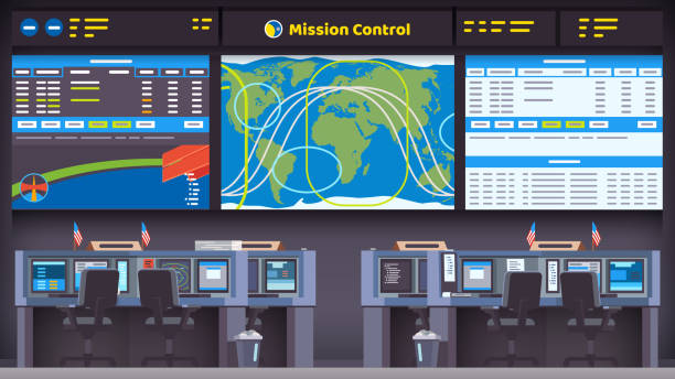 Mission Control Illustrations, Royalty.