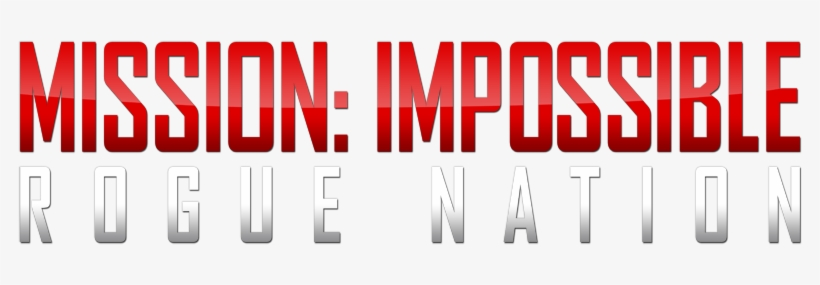 Mission Impossible Rogue Nation Logo.