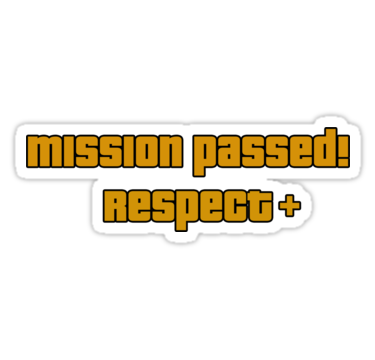Mission Passed Respect Png Vector, Clipart, PSD.