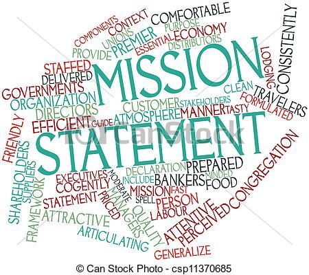 Mission Statement Clipart.