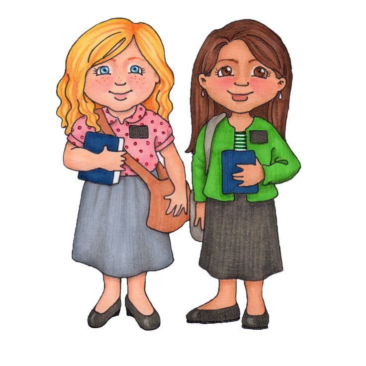 Sister missionary clip art.