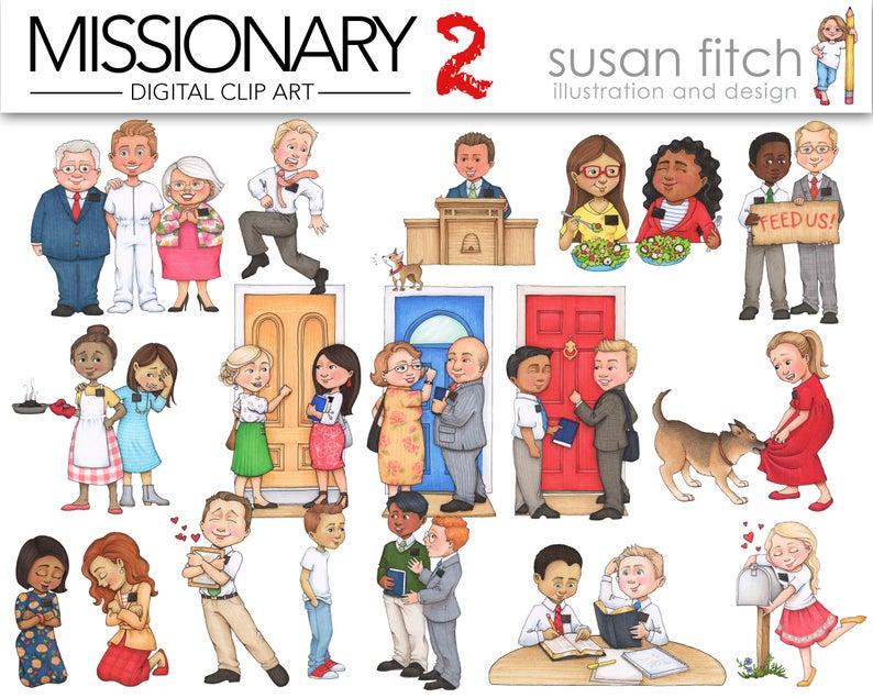 MISSIONARY 2 clip art.