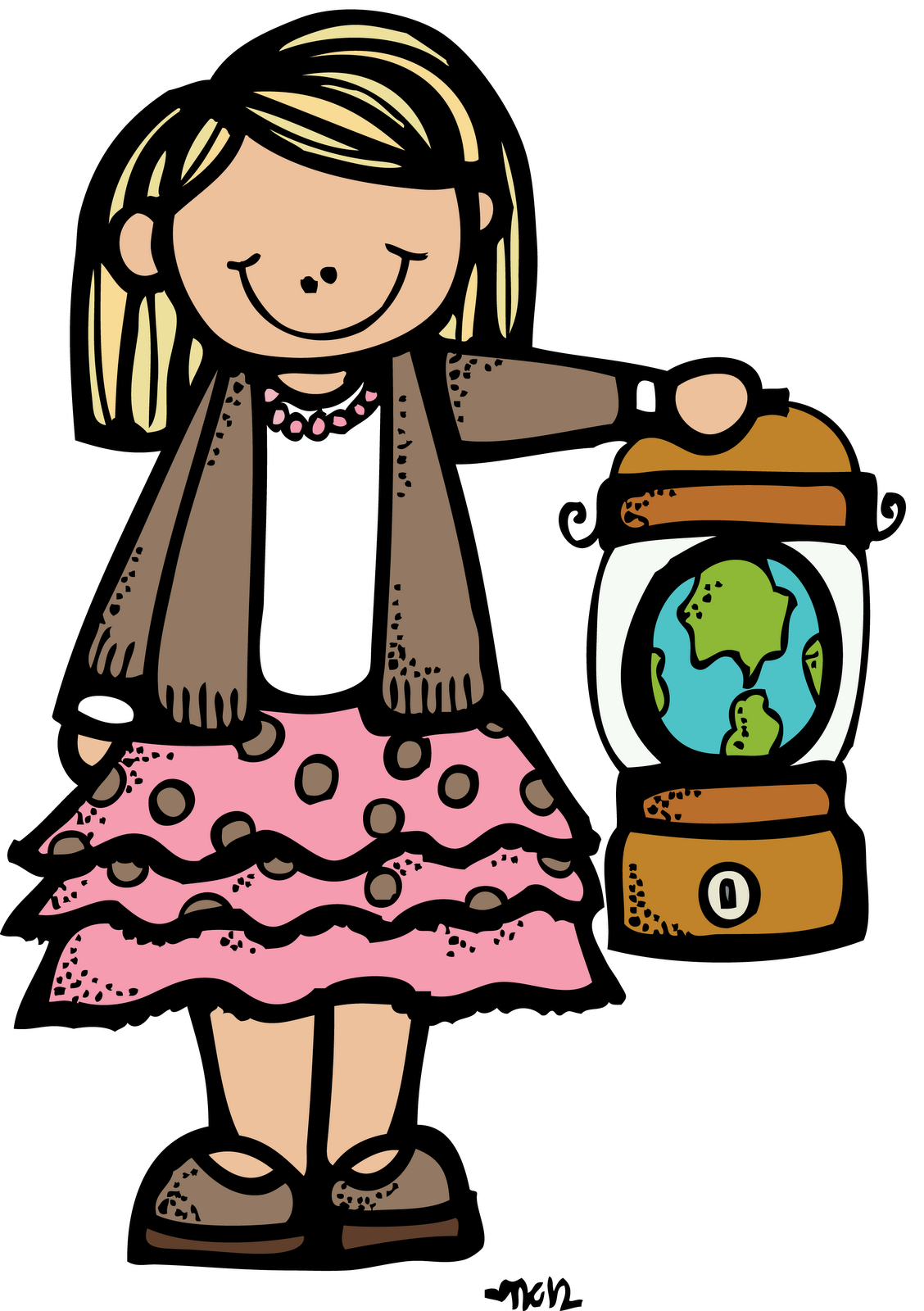 Sister missionary clipart.