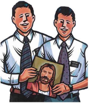 Lds missionary clip art.
