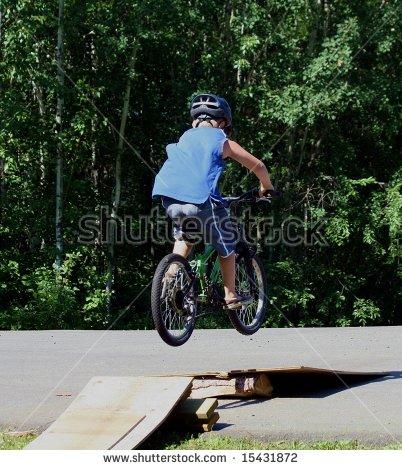 Bike Ramp Stock Photos, Royalty.