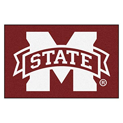 Amazon.com : Mississippi State University Logo Area Rug.