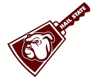 Mississippi State Bulldog Clipart#2206581.