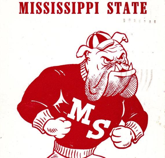 Mississippi State Bulldog Clipart.