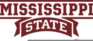 Mississippi State University Bulldog Clipart.