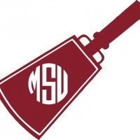 Mississippi State Cowbell Decal.