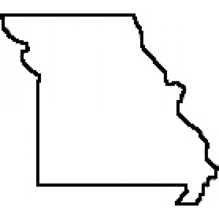 Clipart missouri outline.