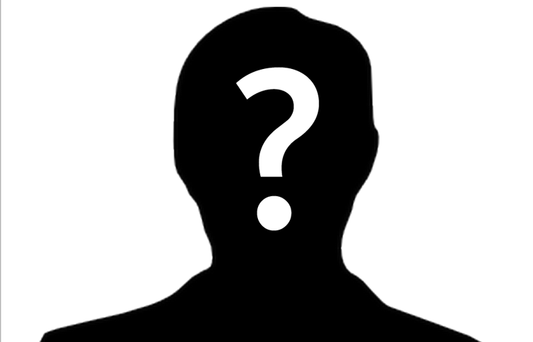 Mystery Person Clipart.