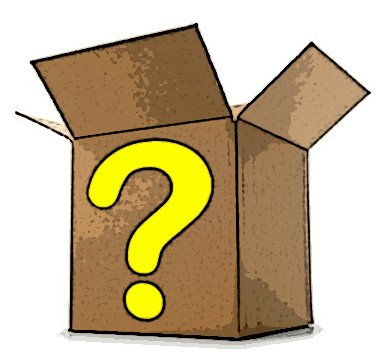 Clipart mystery box.