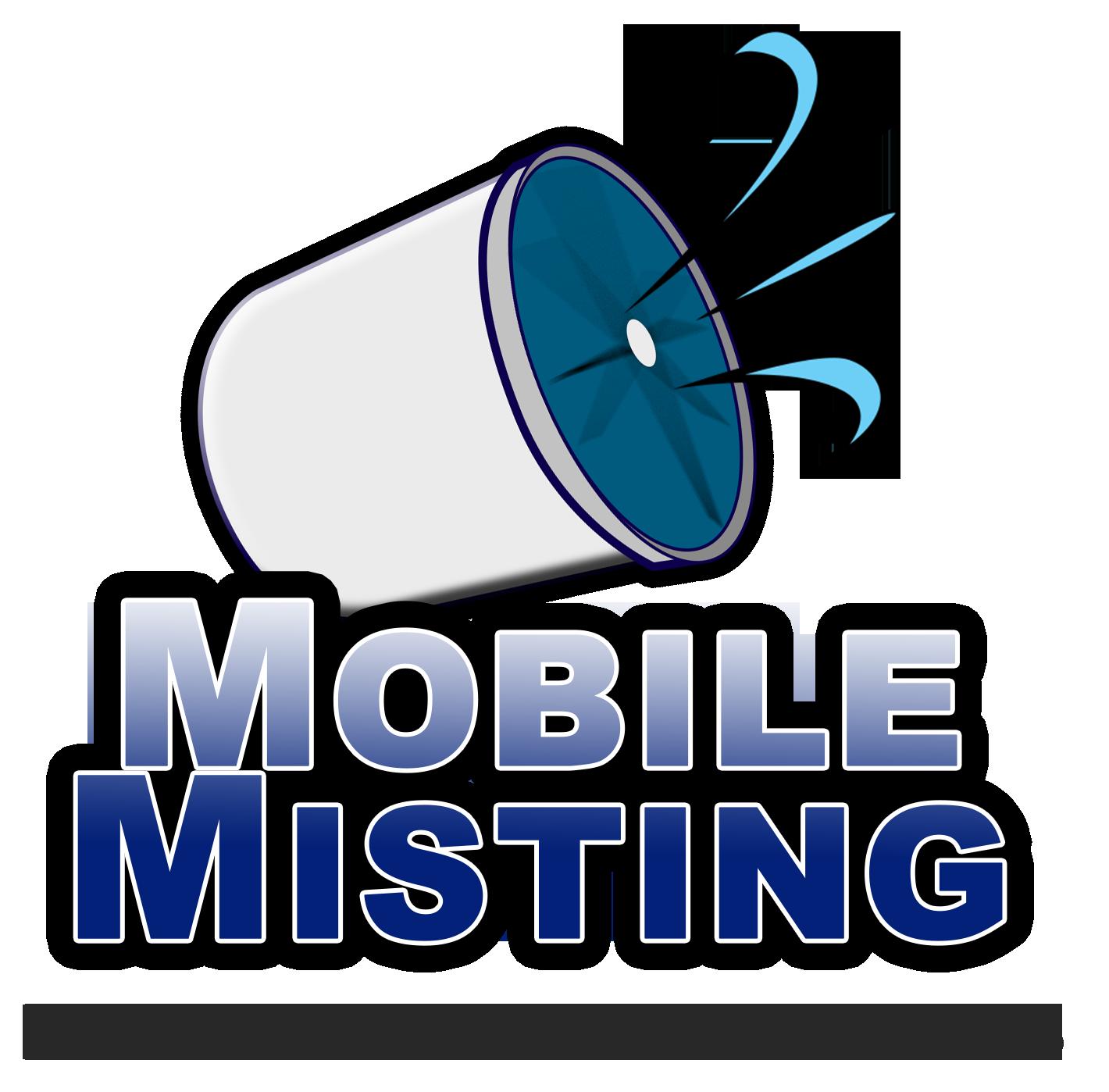 Mobile Misting Cooling Fans.